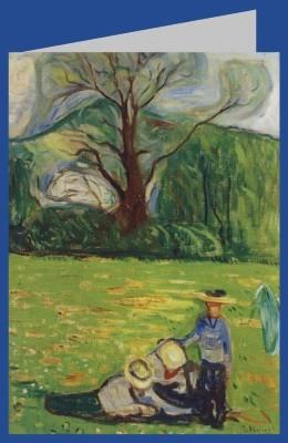 Edvard Munch. Frühlingslandschaft, 1903