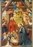 Langenberg, Ferdinand. Geburt Christi. KK