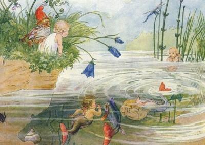 Minckwitz, M. Die lustigen Fische