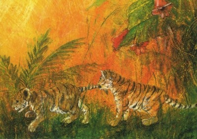Daniela Drescher. Junge Tiger