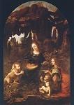 Leonardo da Vinci. Felsgrotten-Madonna. KK