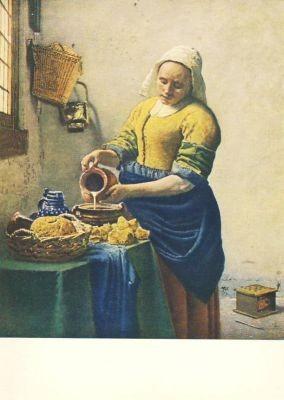Jan Vermeer van Delft. Die Küchenmagd. KK