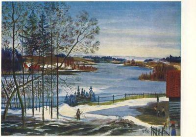 Partikel, A. Winter in Masuren