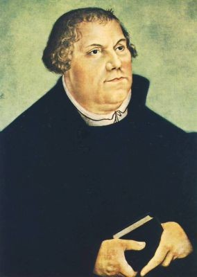 Cranach, Lucas d.Ä. Martin Luther. KK