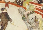Henri de Toulouse-Lautrec. Zirkus Fernando: D. Reiterin,1888