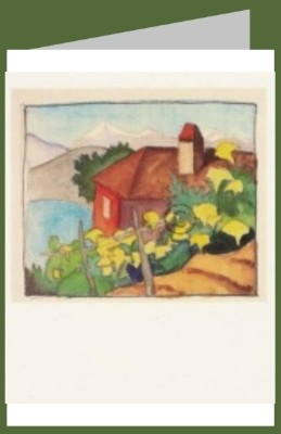 Hermann Hesse. Haus im Weinberg, um 1930. DK