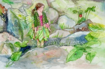 Anne C. Wenzel. Im Elfenland
