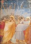 Giotto di Bondone. Judas-Kuss/Gefangennahme. KK
