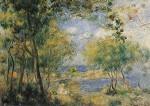 Piere-Auguste Renoir. Noirmoutier. KK