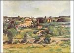 Cézanne, P. Landschaft im Westen von Aix-en-Provebce. KK