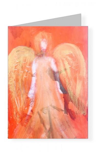 Imme Linzer. Lichtengel. Light Angel, 2017