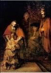 Rembrandt. Die Heimkehr des verlorenen Sohnes, 1668/69. KK