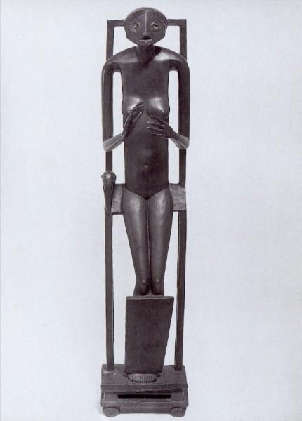 Giacometti. A. Der unsichtbare Gegenstand,Hände d. Leere.KK