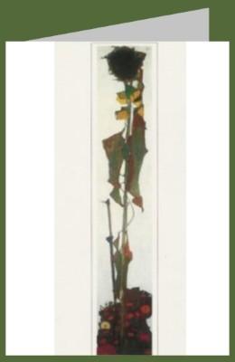Schiele, Egon. Sonnenblume,1909. DK