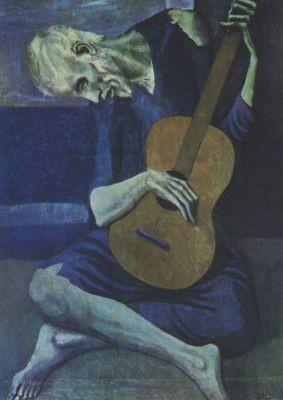 Der alte Guitarrist, Picasso
