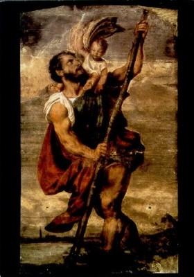 Vezellio, Tiziano. Christophorus. 24./25. Juli