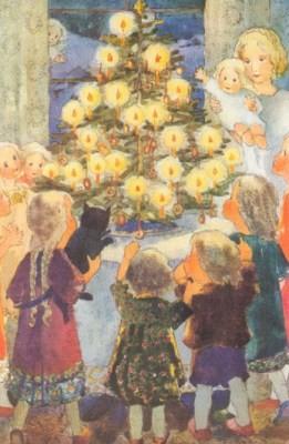 Mili Weber. Frohes Weihnachtsfest. KK
