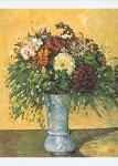 Cézanne, P. Blumenstrauß in blauer Vase, 1873/75. KK