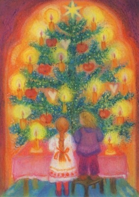 Angela Koconda. Weihnachtsbaum