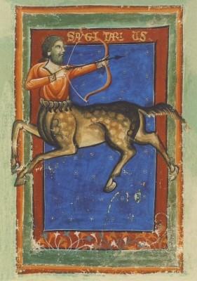 Liber Astrologiae, 14. Jh. Schütze. KK