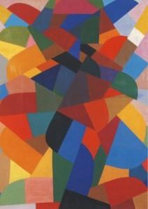 Otto Freundlich. Komposition, 1940