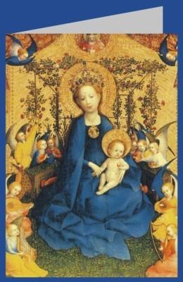 Stefan Lochner. Maria in der Rosenlaube