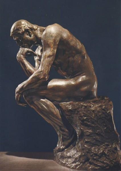 Auguste Rodin. Der Denker, 1889. KK