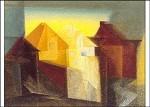Lyonel Feininger. Lüneburg, 1924. KK