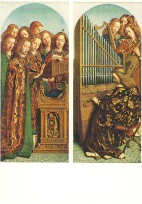 Eyck, J. Die singenden/musizier. Engel. KK