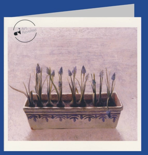 Kooi, J. Grape hyacinths, 1999. 16x16-DK