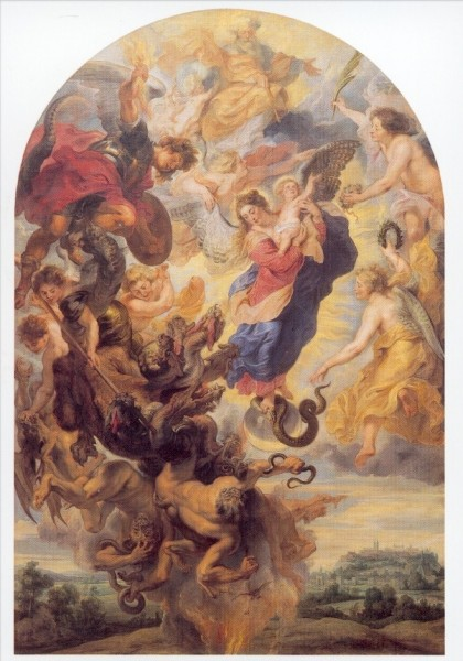 Peter-Paul Rubens. Das apokalyptische Weib, 1624/25. KK