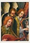 Lochner, S. Laute und Harfe spielende Engel. DK