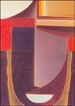 Alexej von Jawlensky. Abstrakter Kopf: Andante, 1933