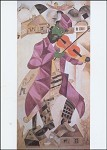 Marc Chagall. Der Fiedler, 1915. KK