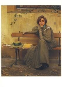 Vittorio Corcos. Träume, 1896. KK