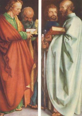 Albrecht Dürer. Die Apostel.