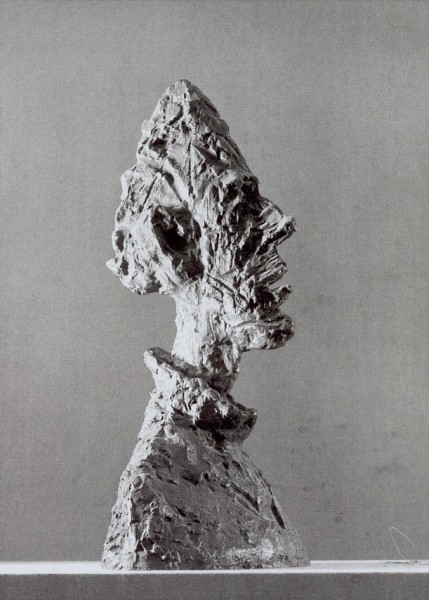 Giacometti, Alberto. Grosser Kopf Diegos, 1954. KK