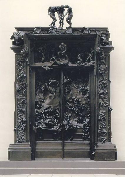 Auguste Rodin. Das Höllentor, ca. 1890. KK
