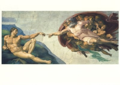 Michelangelo. Die Erschaffung Adams, 1511/12. KK