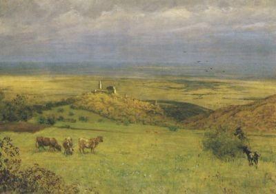 Blick auf Kronberg, Thoma
