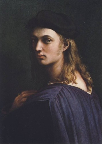 Raffael. Bildnis des Bindo Altroviti. um 1560. KK