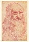 Leonado da Vinci. Autoritratto. KK