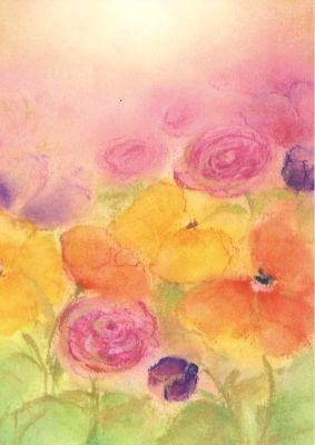 Baukje Exler. Bunte Blumen