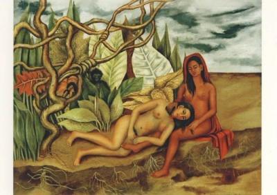 Frida Kahlo. Zwei Akte im Wald, 1939