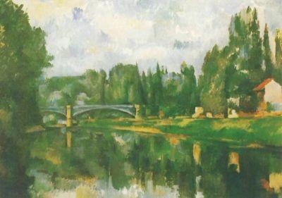Cézanne, P. Marnebrücke bei Creteil. KK