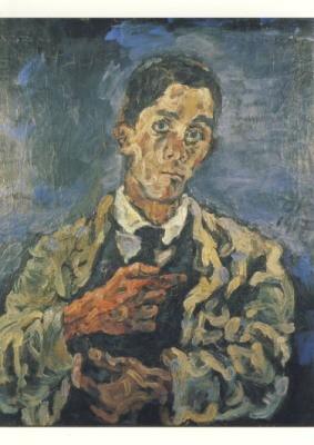 Kokoschka, O. Selbstbildnis, 1917
