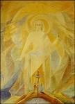 Collot d´Herbois. Fresko aus der Kapelle Brissago. KK