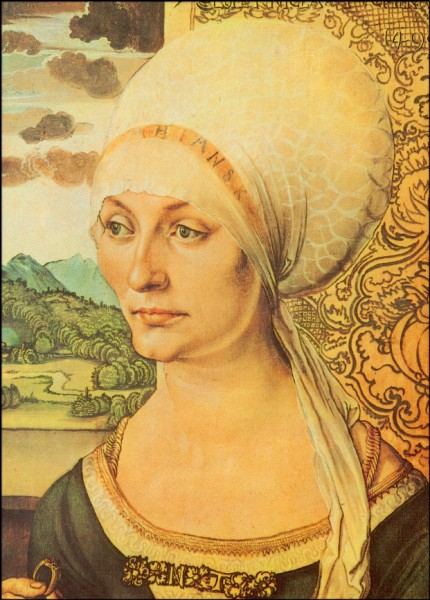 Bildn.d.Elisab.Tucher,1499,Dürer