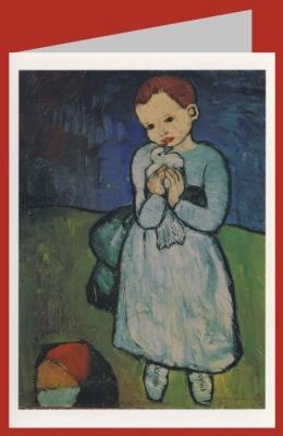 Picasso, P. Kind mit Taube, 1901. DK
