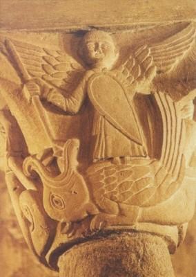 Der heilige Michael und der Drache. KK